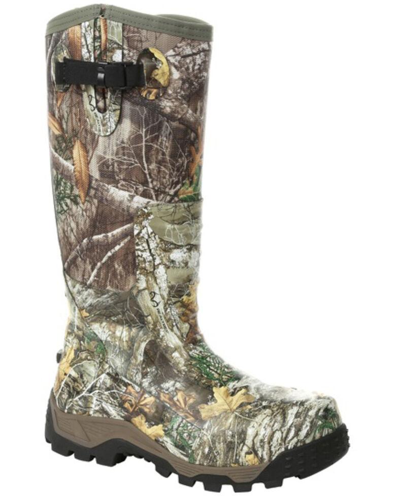 1f6f5f6a4b9 Rocky Men's Camo Rubber Snake Boots - Round Toe