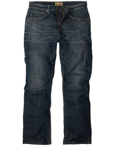 Wrangler 20X Junior Boys' Wrought Iron Stretch Slim Bootcut Jeans , Blue, hi-res