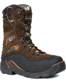 Rocky Men's BlizzardStalker PRO Waterproof Insulated Boots, Mossy Oak, hi-res
