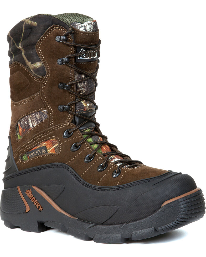 Rocky Men's BlizzardStalker PRO Waterproof Insulated Boots, Mossy Oak, hi-res