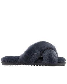 Lamo Women's Serenity Sheepskin Sandals, Grey, hi-res