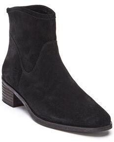 Matisse Women's Black Slow Down Fashion Booties - Round Toe, Black, hi-res