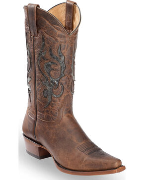 Moonshine Spirit Men's Propuesta Damiana Boot - Snip Toe, Brown, hi-res