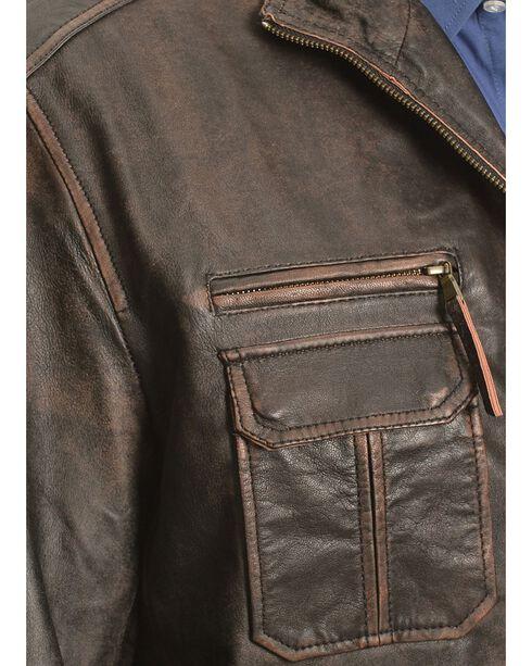 Scully Vintage Lamb Jacket, Brown, hi-res