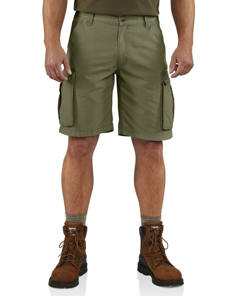 Carhartt Rugged Cargo Work Shorts, Army, hi-res