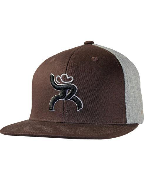 Hooey Men's Hawk Adjustable Baseball Cap , Brown, hi-res