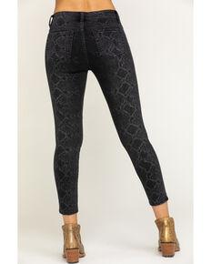 Miss Me Women's Black Python Print Basic Skinny Jeans, Black, hi-res