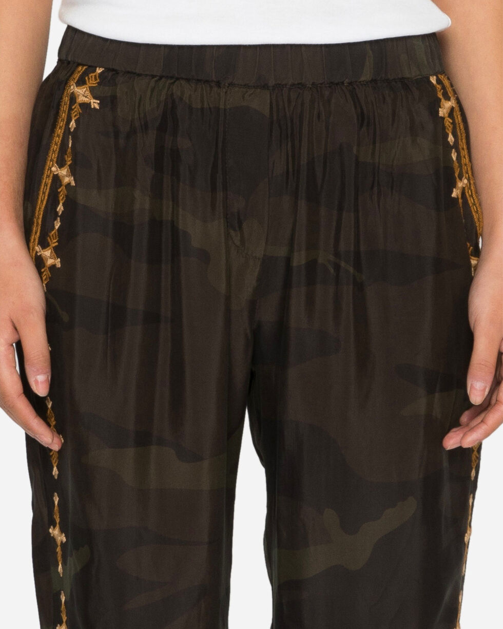 Johnny Was Women's Camo Valea Jogger Pants , Camouflage, hi-res