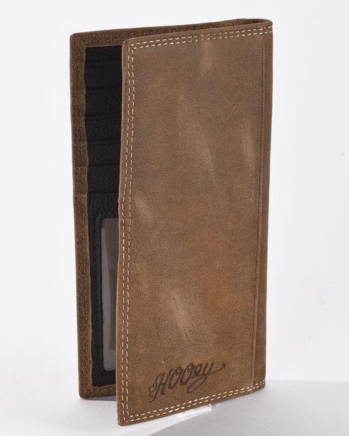 Hooey Men's Tan Signature Rodeo Wallet , Tan, hi-res