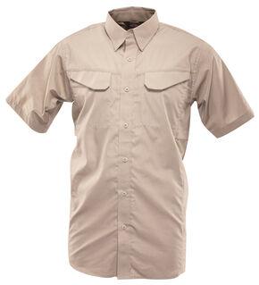 Tru-Spec Men's 24-7 Ultralite Short Sleeve Field Shirt, Khaki, hi-res