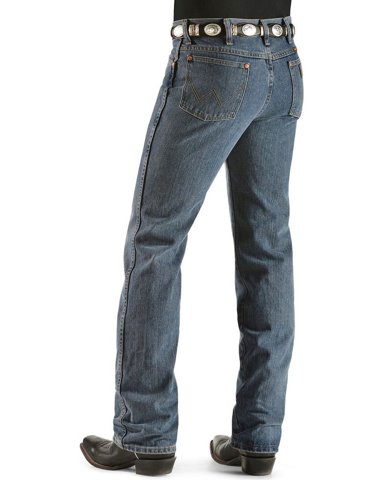 "Wrangler 936 Cowboy Cut Slim Fit Prewashed Jeans - 38"" Inseam, Rough Stone, hi-res"