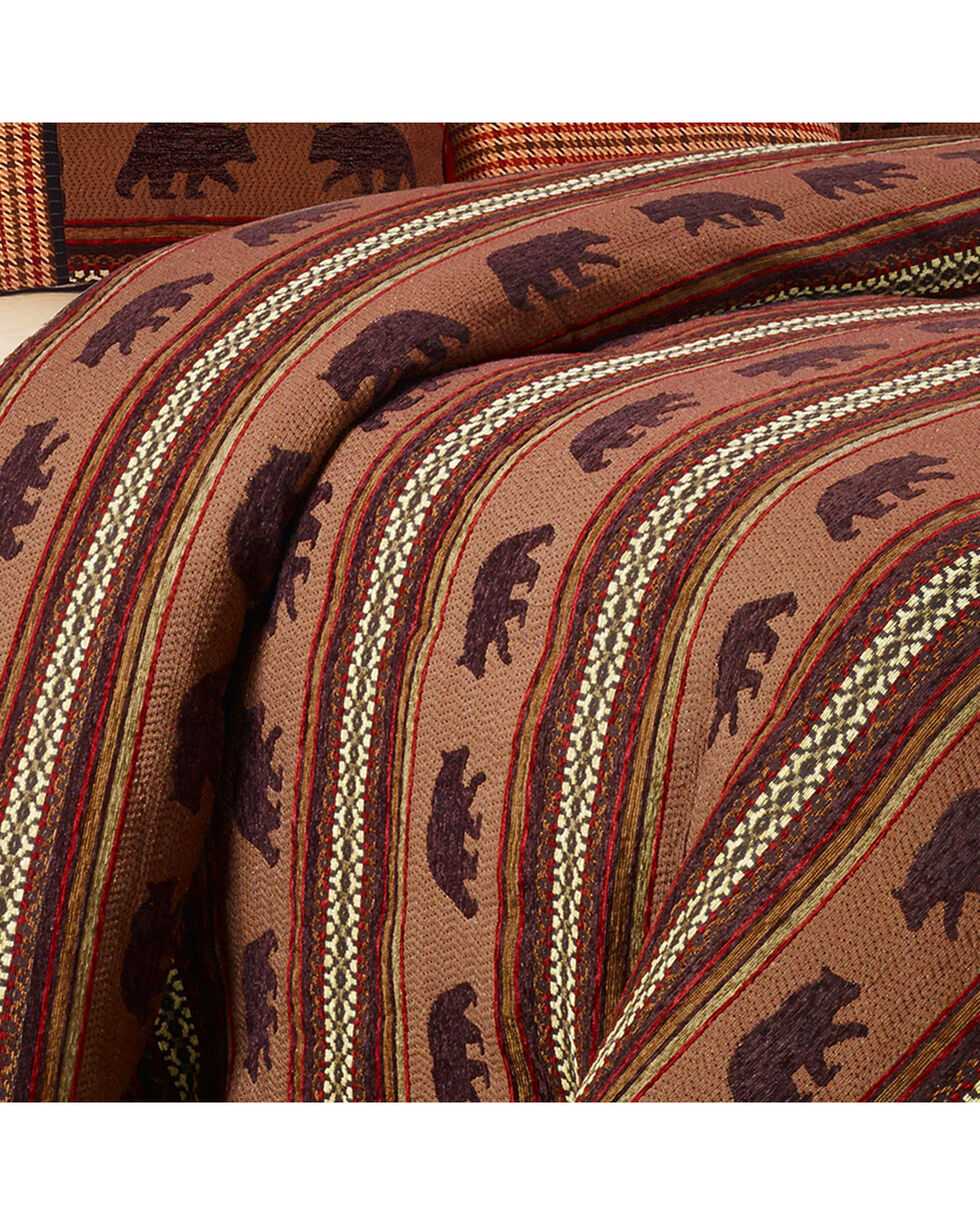 HiEnd Accents Bayfield Bear King Duvet, Multi, hi-res