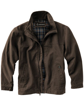 Dri Duck Men's Maverick Work Jacket , Brown, hi-res
