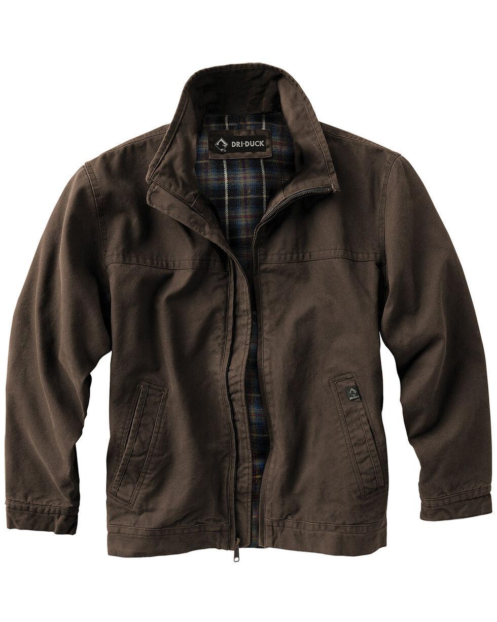 Dri Duck Men's Maverick Work Jacket , Brown, hi-res