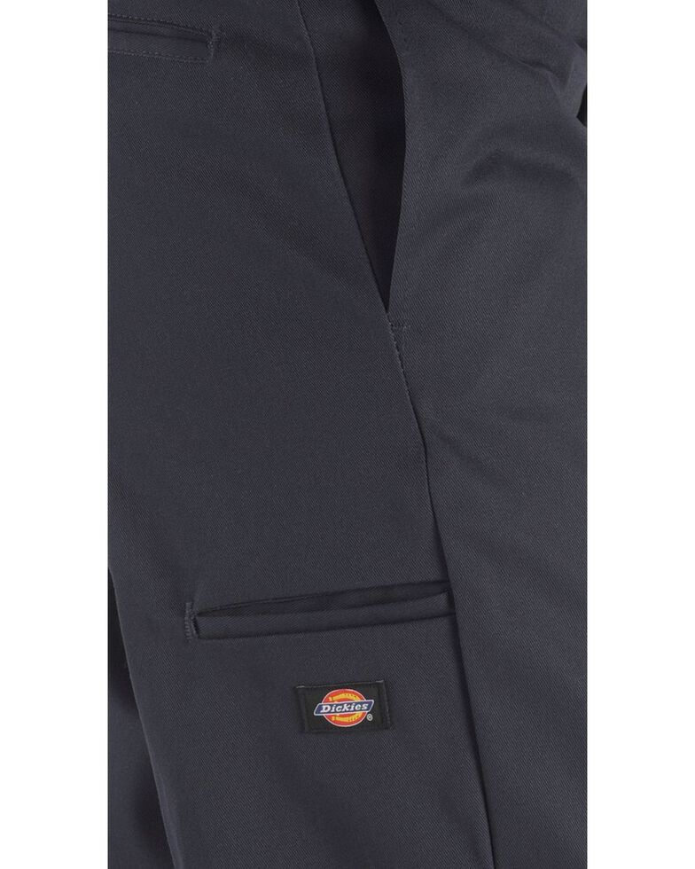 Dickies  Loose Fit Double Knee Work Pants - Big & Tall, Navy, hi-res