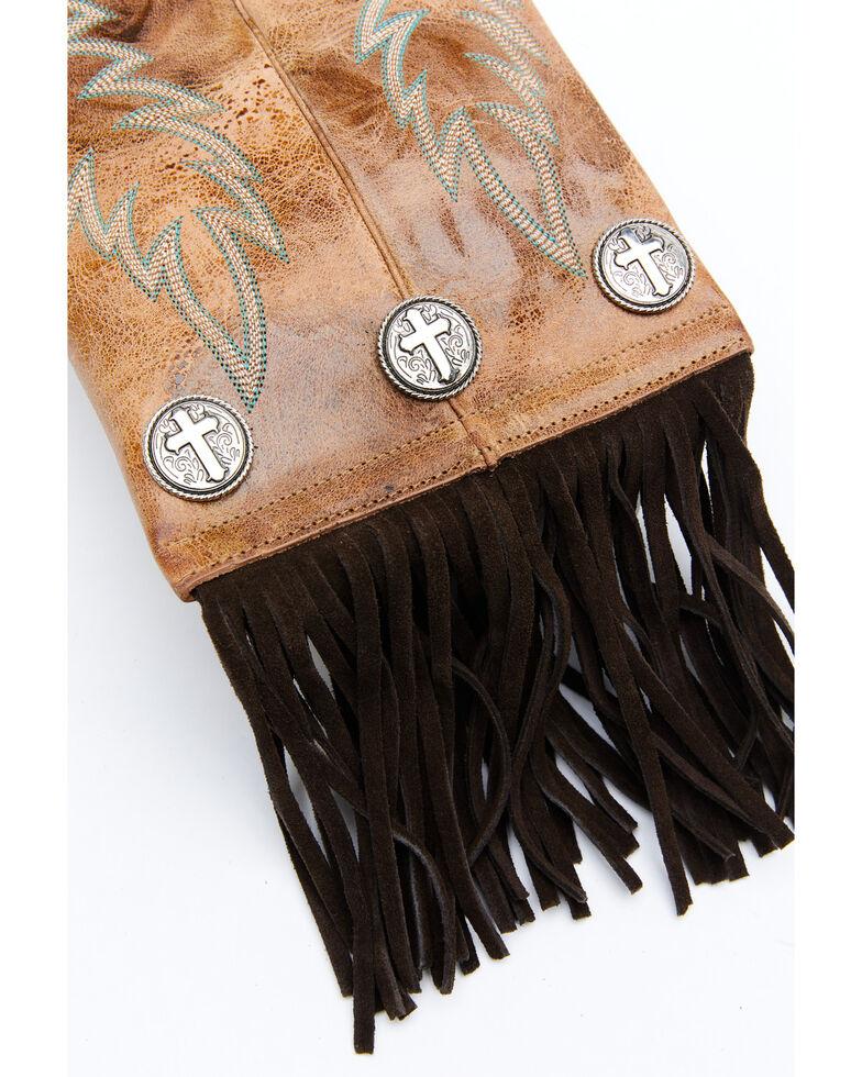Shyanne Women's Boot Stitch Natural Crossbody Bag, Natural, hi-res