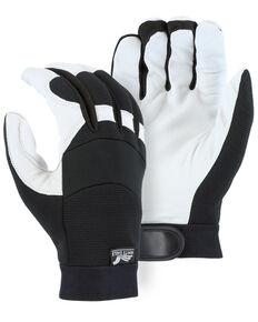 Durango Men's Winter Black Lined Bald Eagle Mechanic Gloves, Black, hi-res