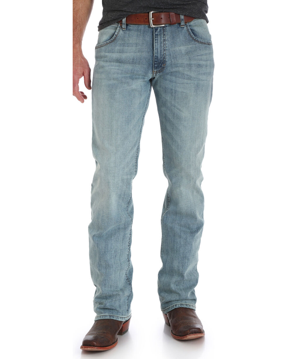 Wrangler Men's Retro Slim Fit Jeans - Boot Cut , Indigo, hi-res