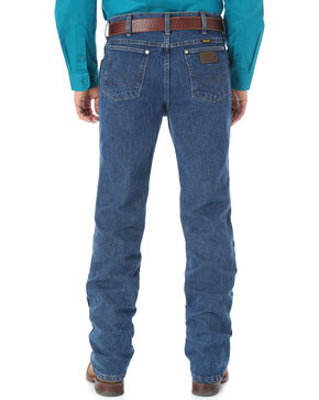 Wrangler Cool Vantage 47 Dark Stonewash Jeans - Slim Fit - Big and Tall, Dark Stone, hi-res