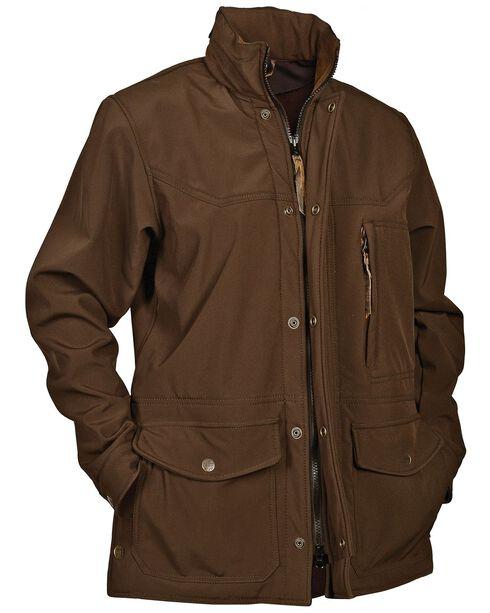 STS Ranchwear Men's Brazos Brown Jacket - Big & Tall - 4XL, Brown, hi-res