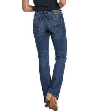 Silver Women's Suki Dark Rinse Slim Jeans - Boot Cut, Indigo, hi-res