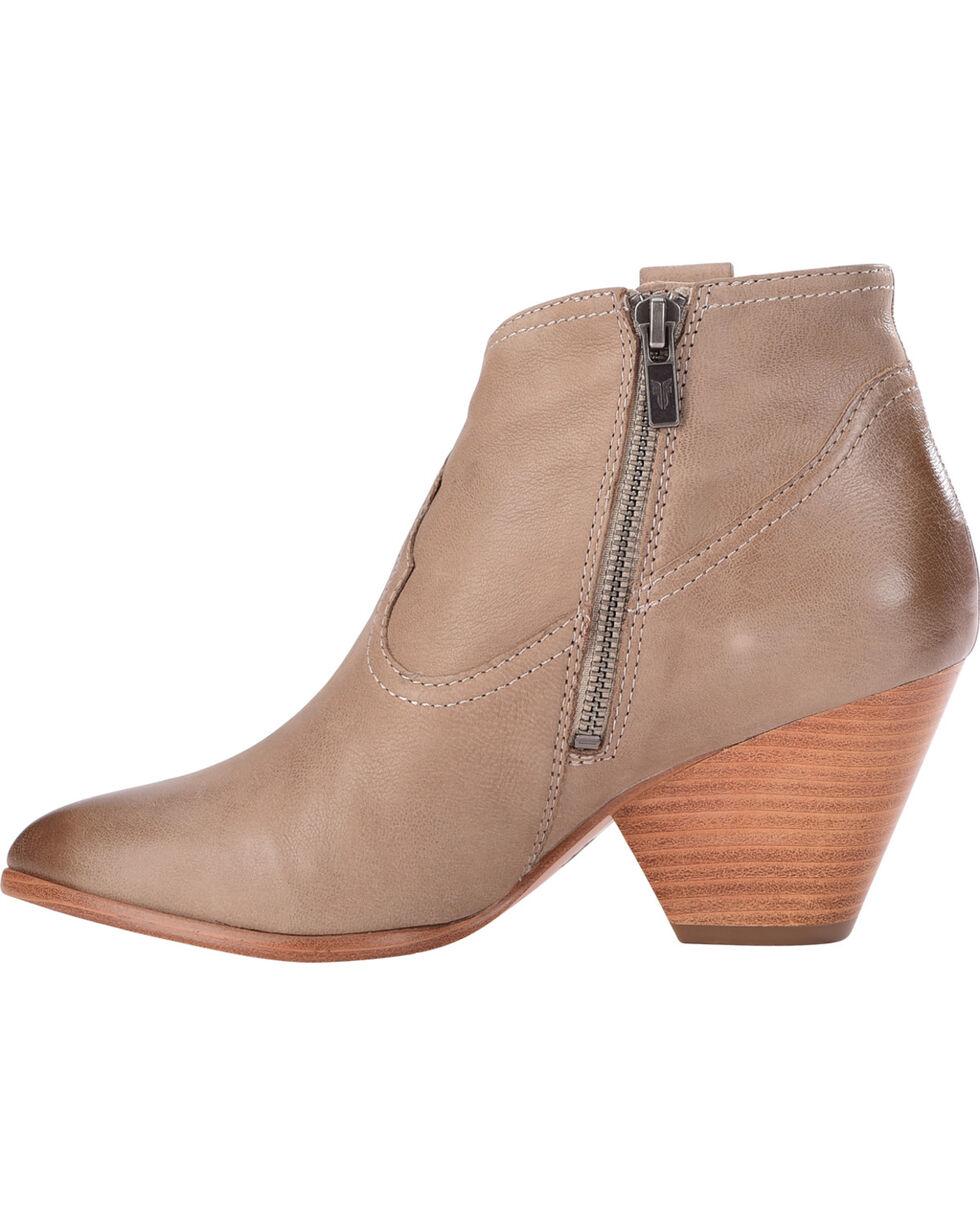 Frye Women's Ash Reina Leather Booties - Pointed Toe , Black, hi-res