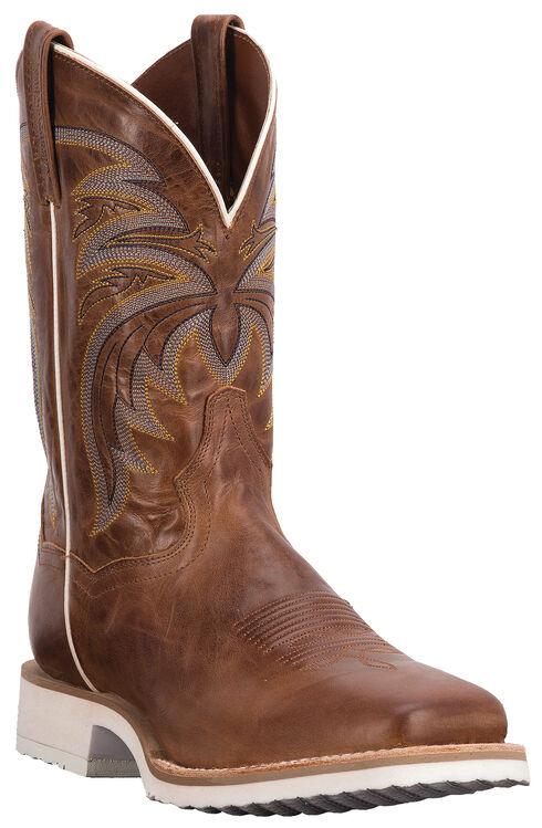 Dan Post Cayenne Chestnut Diamond Pro Cowboy Boots - Square Toe, Chestnut, hi-res