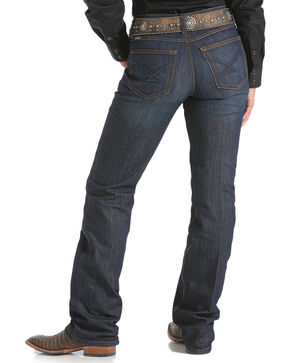 Cinch Women's Jenna Relaxed Fit Jeans, Indigo, hi-res