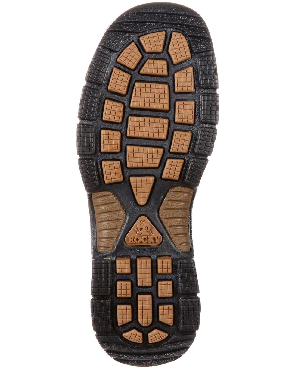 Rocky Men's Mobilite Waterproof Western Work Boots - Round Toe, , hi-res