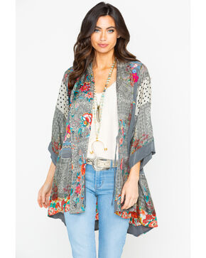 Johnny Was Women's Ellamo Embroidered Kimono  , Multi, hi-res
