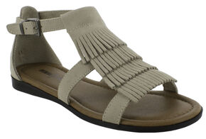 Minnetonka Women's Maui Sandals, Sand, hi-res
