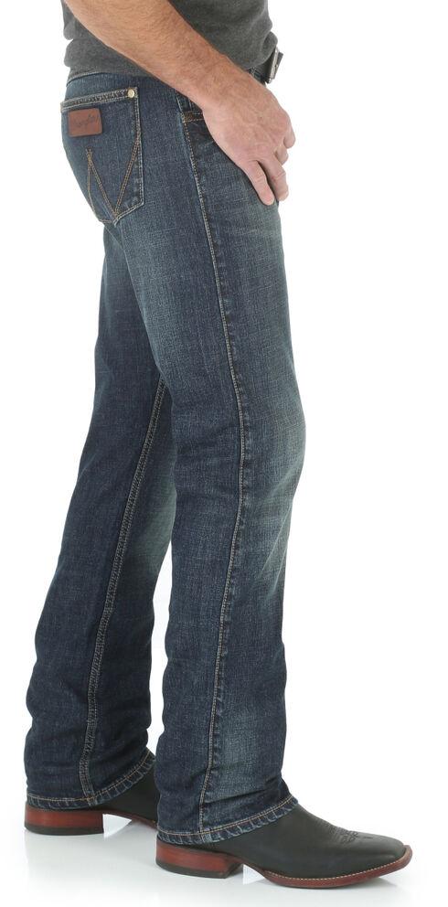 Wrangler Retro Bozeman Men's Slim Fit Jeans - Straight Leg , Denim, hi-res