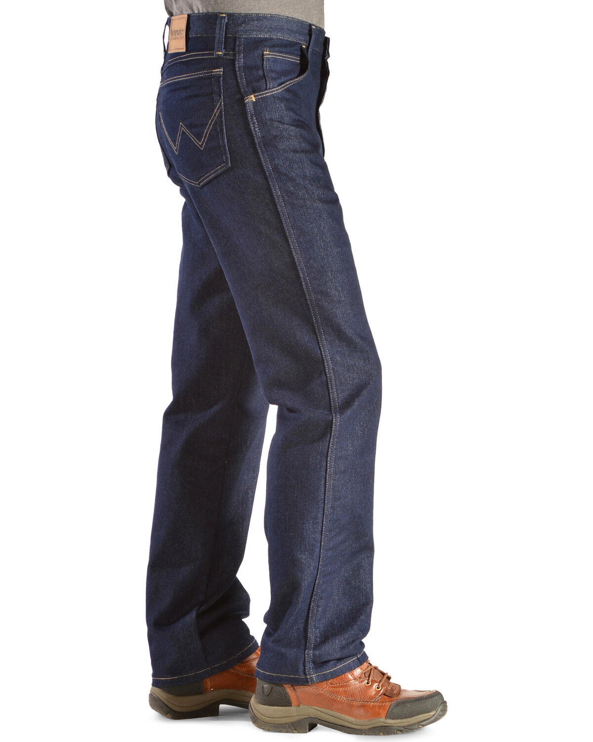 Wrangler Jeans   Rugged Wear Classic Fit Stretch, Indigo, Hi Res