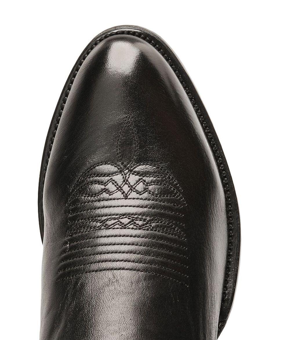 Lucchese Handmade Lonestar Calf Cowboy Boots - Medium Toe, Black, hi-res