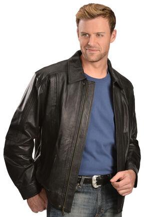 Scully Premium Lambskin Jacket - Big & Tall, Black, hi-res