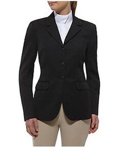 Ariat Women's Black Heritage Show Coat, Black, hi-res