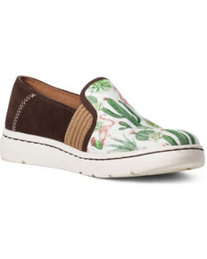 Ariat Women's Ryder Flamingo Print Casual Shoes - Round Toe, Multi, hi-res