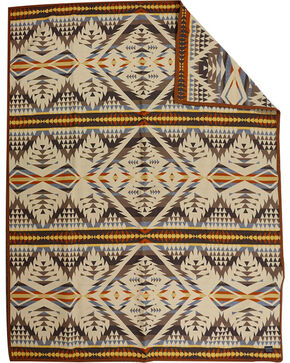 Pendleton Diamond Dessert Blanket, Sand, hi-res