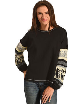 Angel Premium Women's Cherlynn Sweater, Black, hi-res