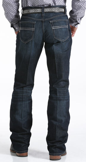Cinch Men's Carter 2.4 Relaxed Performance Jeans - Boot Cut , Indigo, hi-res