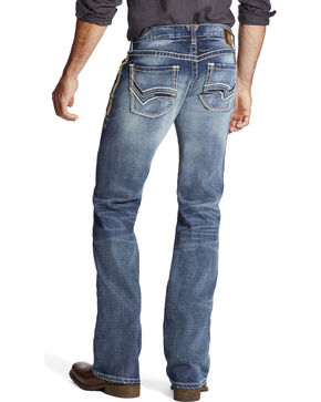 Ariat Men's Indigo M7 Serve Extra Slim Fit Jeans - Boot Cut, Indigo, hi-res