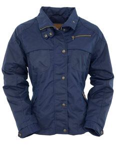 Outback Trading Co. Women's Navy Sheila's Delight Jacket - Plus, Navy, hi-res
