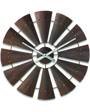 Big Sky Carvers by Demdaco Windmill Clock, Antique, hi-res