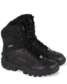 Thorogood Men's Veracity Steel Toe Boots, Black, hi-res
