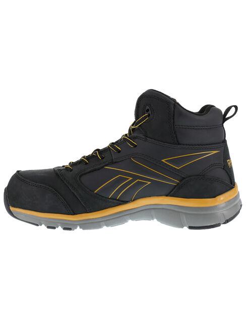 Reebok Men's Tarade High-Top Athletic Work Shoes - Composition Toe, Black, hi-res