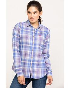 Ariat Women's FR French Spade Amelia Work Shirt, Multi, hi-res