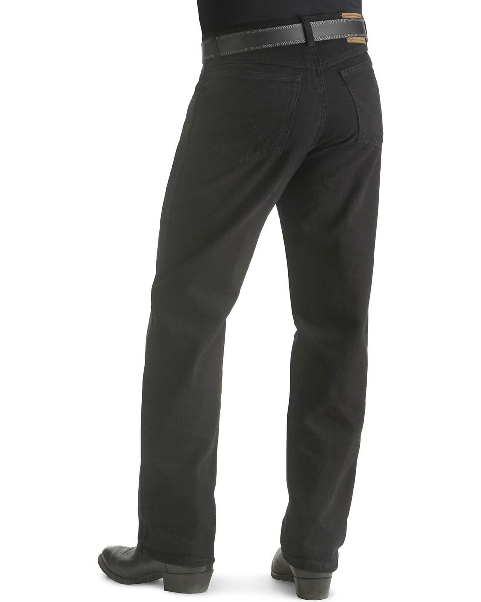Wrangler Jeans - Rugged Wear Relaxed Fit, Black, hi-res