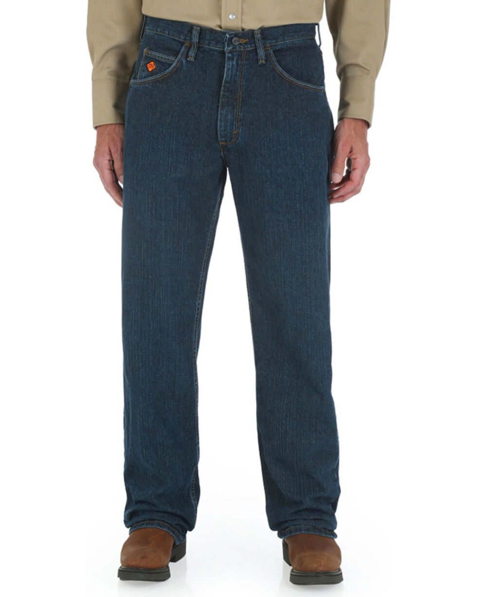 Wrangler Men's 20X Extreme Relaxed Fit Jeans - Straight Leg , Blue, hi-res
