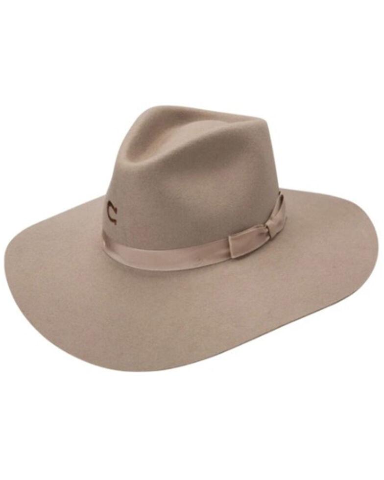 Charlie 1 Horse Kids Camel Junior Highway Wool Felt Western Hat , Camel, hi-res