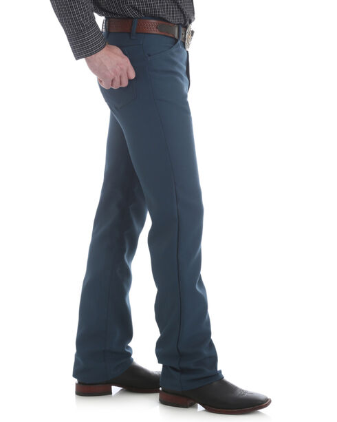 Wrangler Jeans - Wrancher Solid Regular Fit Stretch - Big, Teal, hi-res